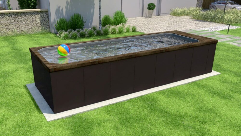 Small Above Ground Pools Everything You Need To Know The Little Pool Co