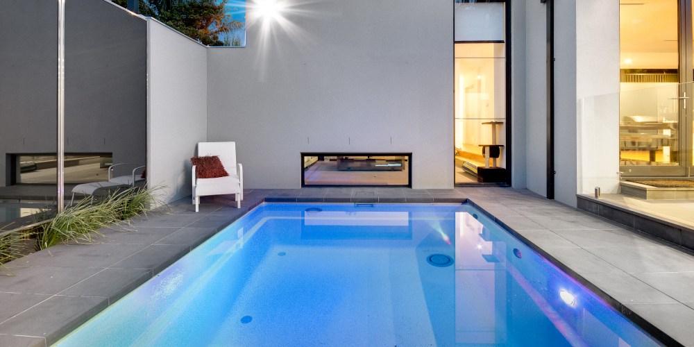 A small pool has both benefits and drawbacks